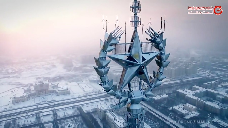 زیبایی های مسکو در زمستان، چیزی که کمتر کسی دیده