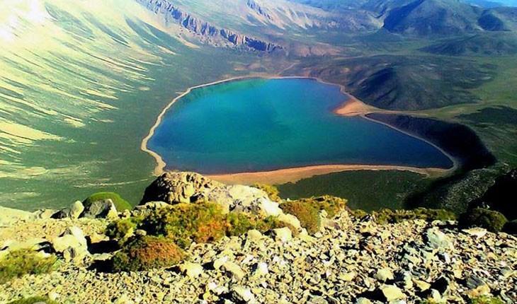 دریاچه شط تمی، بزرگترین دریاچه کوهستانی در مرز لرستان و خوزستان