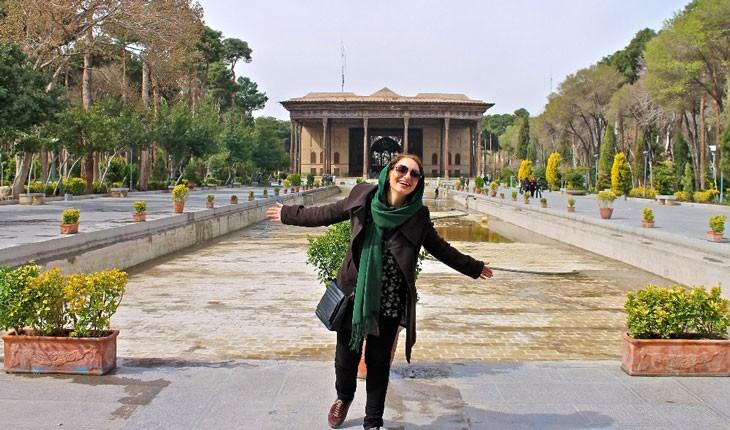 اصفهان از نگاه یک توریست زن خارجی