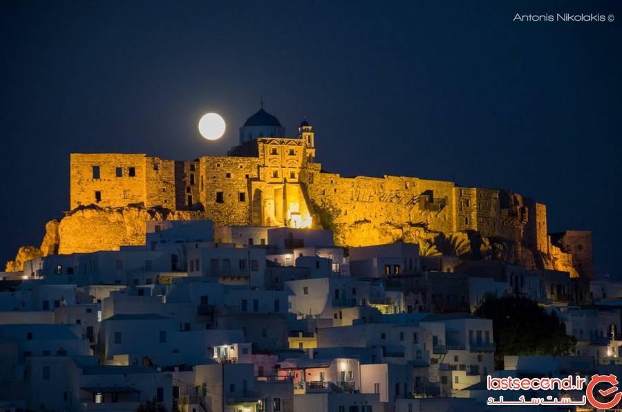 قلعه Astypalaia در یونان