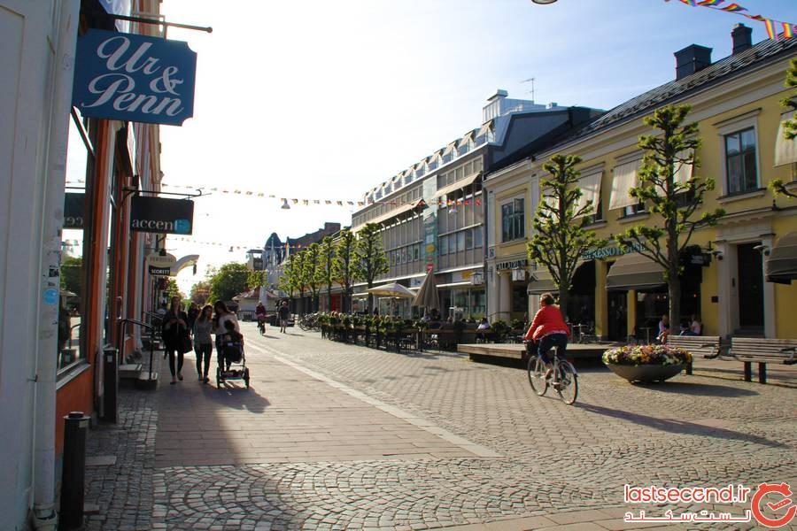 10 شهر زیبا و تماشایی در سوئد 