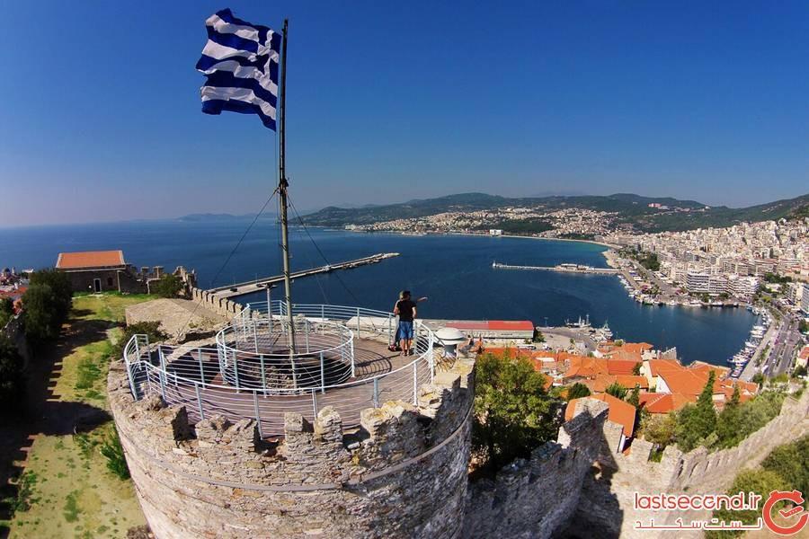 قلعه Kavala یونان