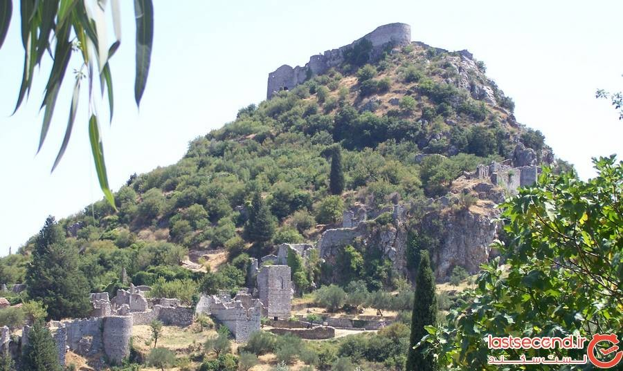 قلعه میسترس، پلپونز یونان