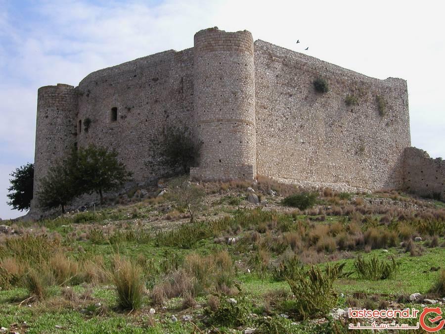 قلعه Chlemoutsi، Kyllini یونان