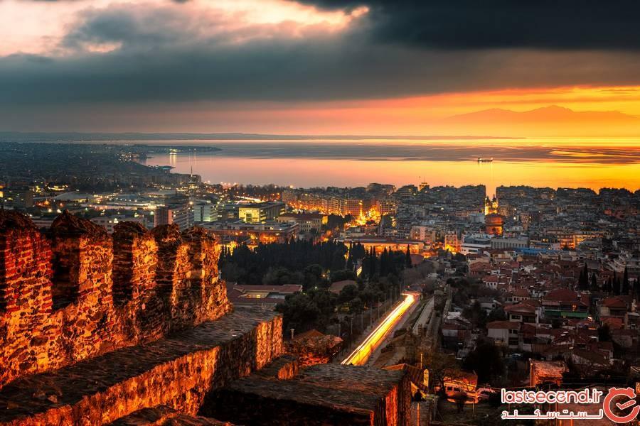 Eptapyrgio، Thessaloniki یونان