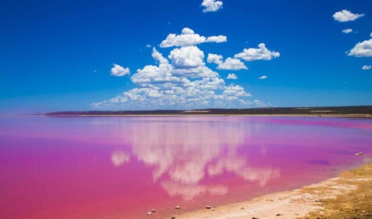 دریاچه رنگین کمان استرالیا