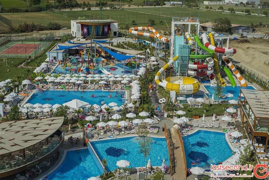 پارک آبی جینو پارادایس تفلیس، تفریح تابستانی هیجانانگیز
