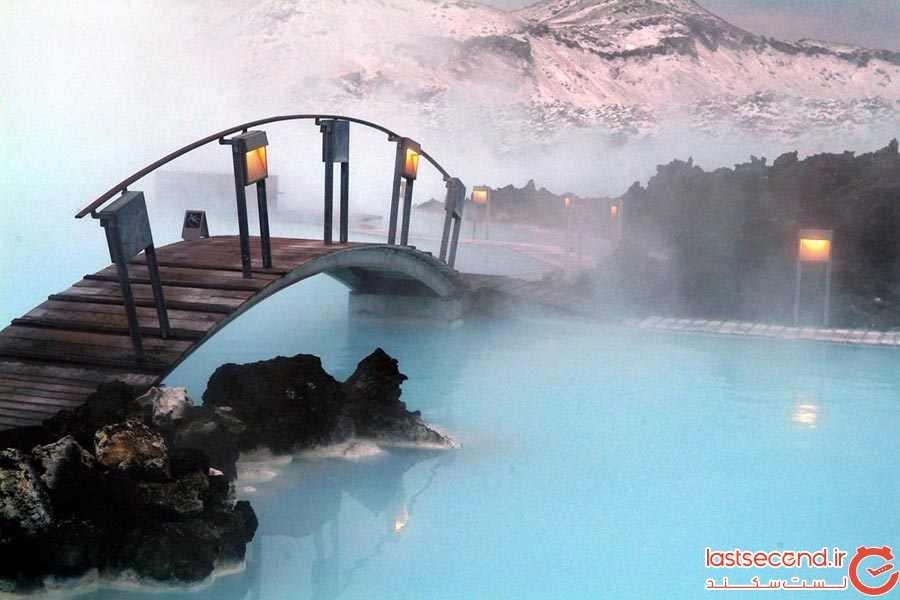 دریاچه آبی رنگ، ایسلند