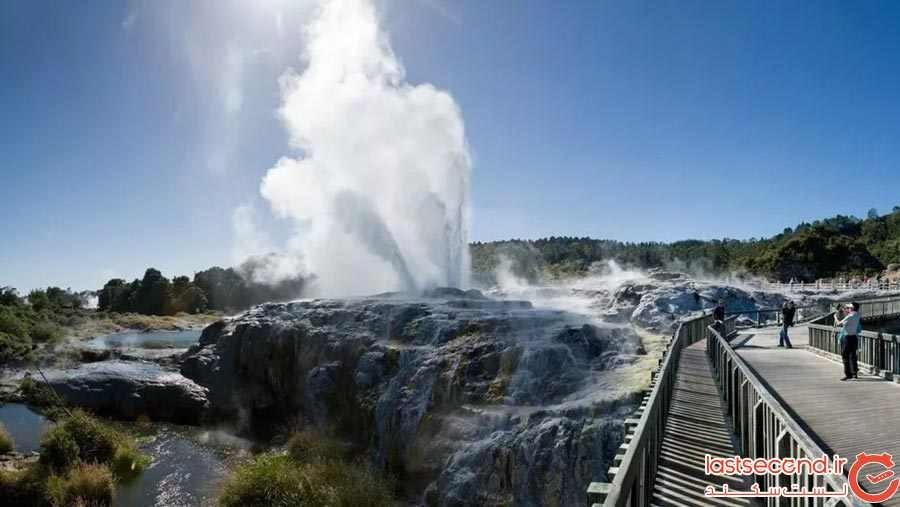 روتروا (Rotorua)، نیوزلند