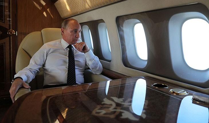 نگاهی به جت شخصی ولادیمیر پوتین 