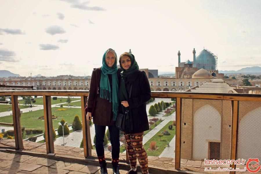 نظرات سیلویا، توریست امریکایی درباره سفرش به ایران