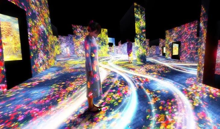 اولین موزه تمام دیجیتال دنیا در توکیو
