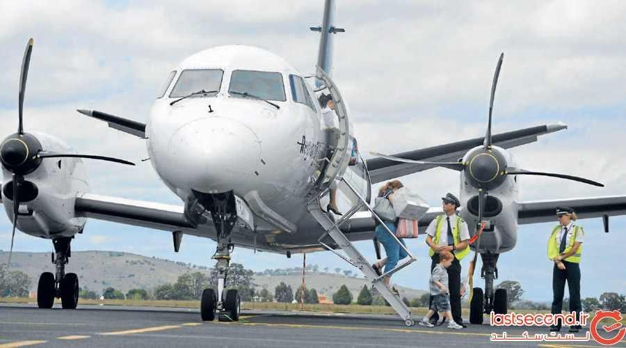 مسافر بوگندویی که باعث فرود اضطراری هواپیمایی هلند شد!