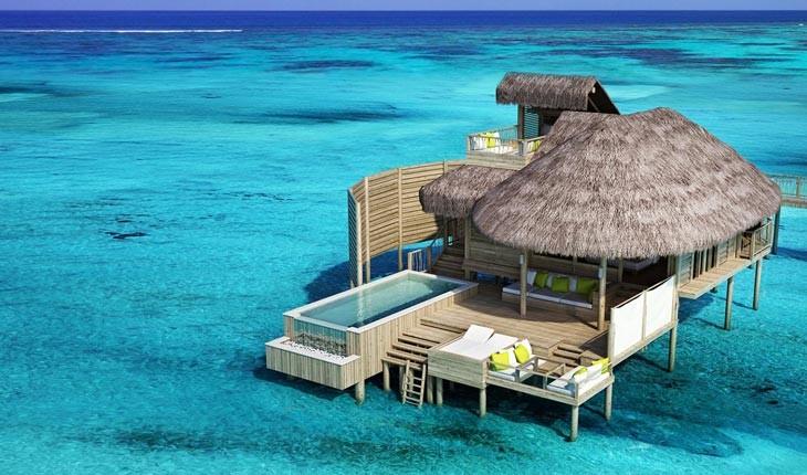 خانه های ییلاقی دریایی در زیباترین جزیره های دنیا
