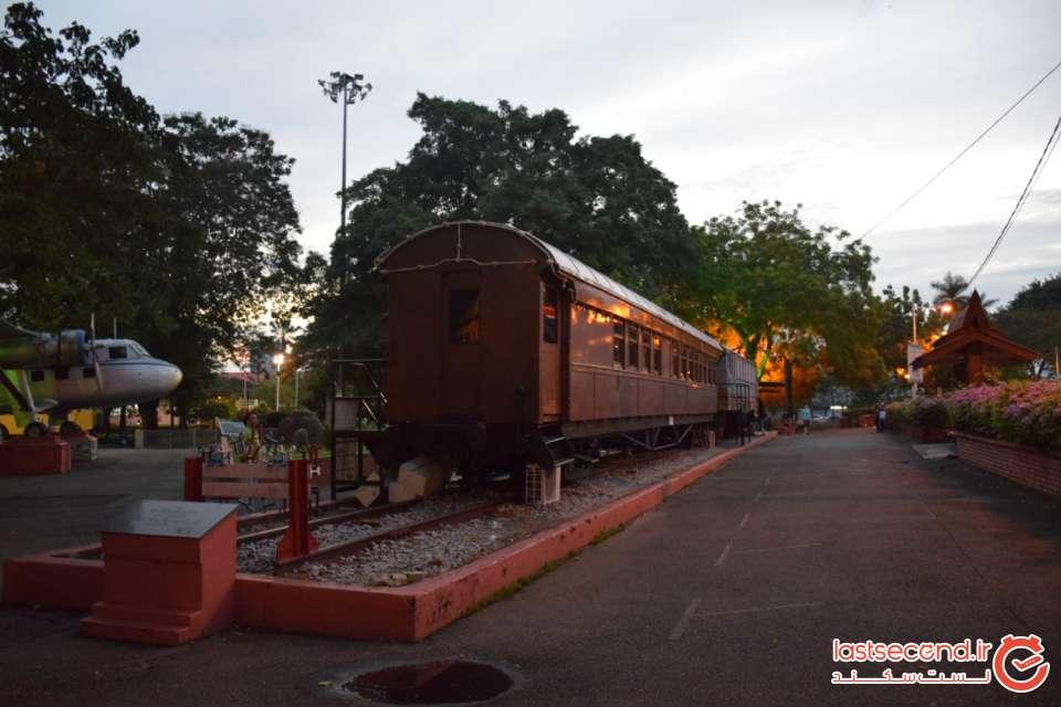 اولین قطار ملاکا