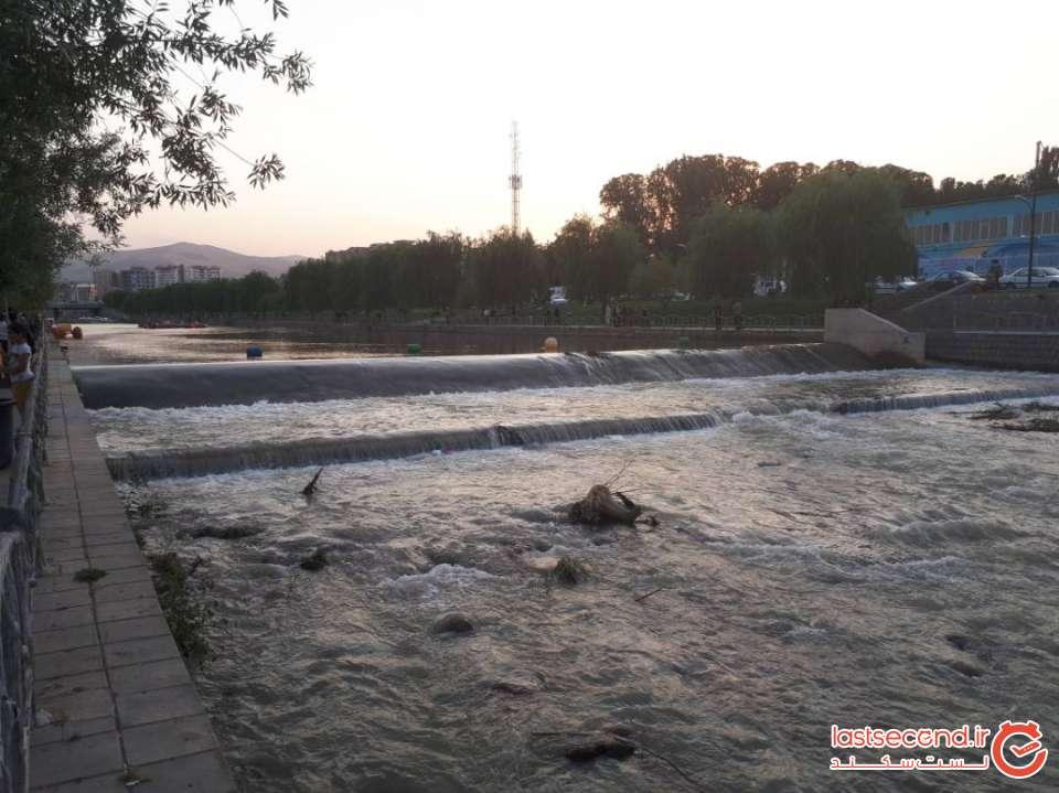 رودخانه شهرچای