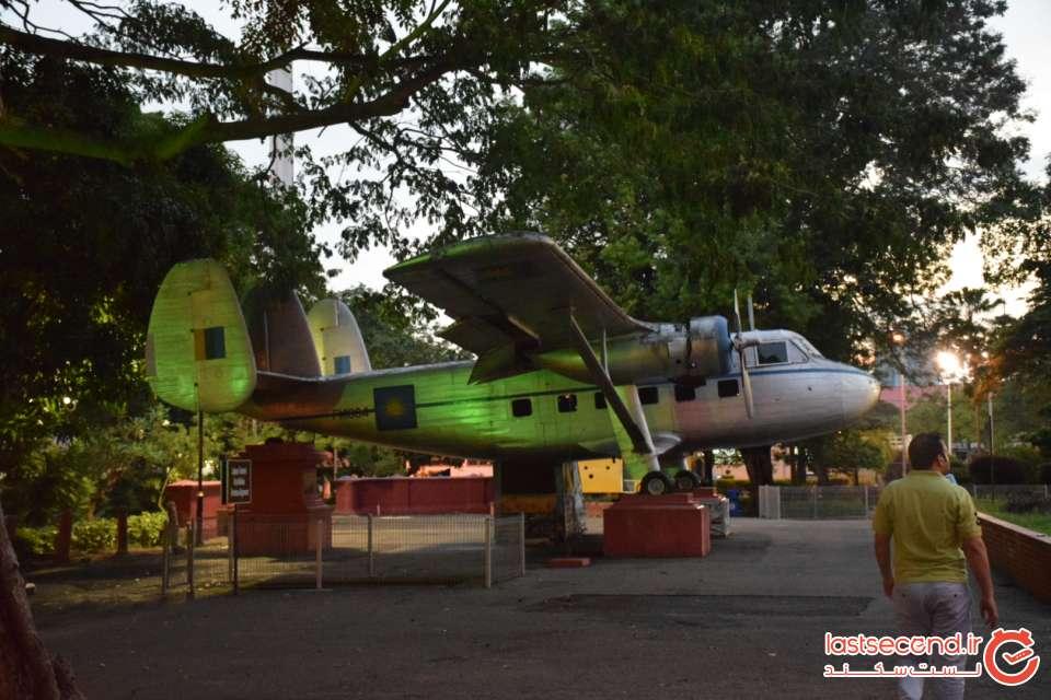 اولین هواپیما ملاکا