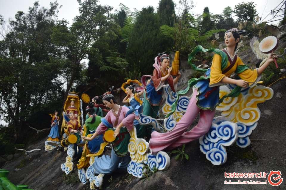 مجسمه نماد بهشت در چین سویی کوآلالامپور