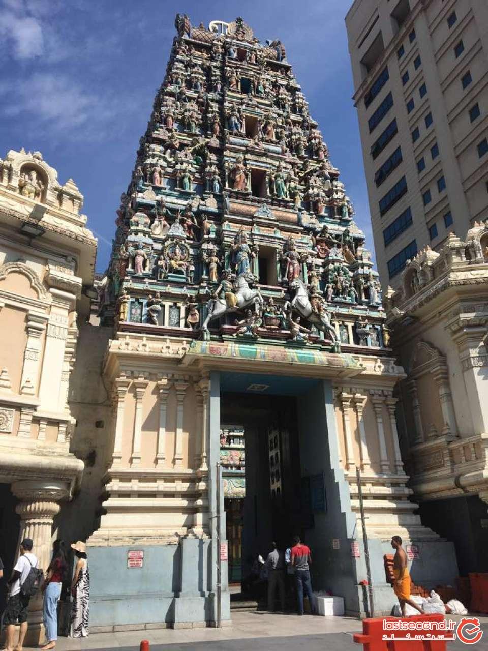 ورودی معبد سری ماهاما
