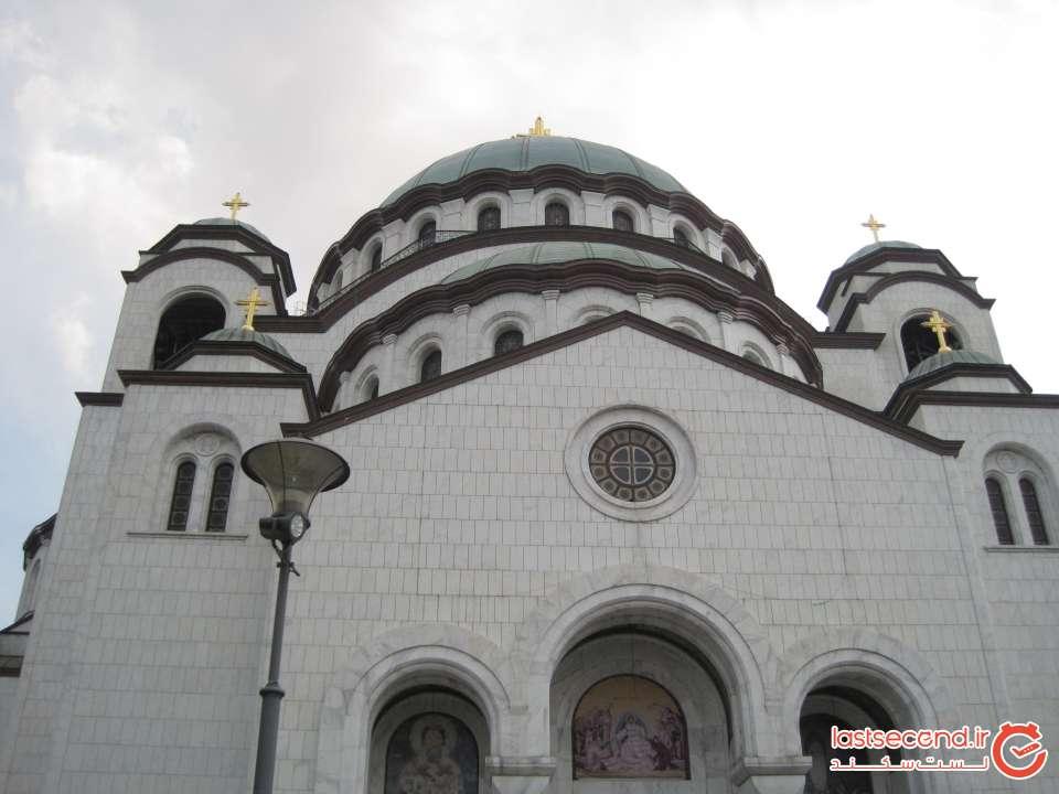 تصویر کلیسای Temple of Saint Sava