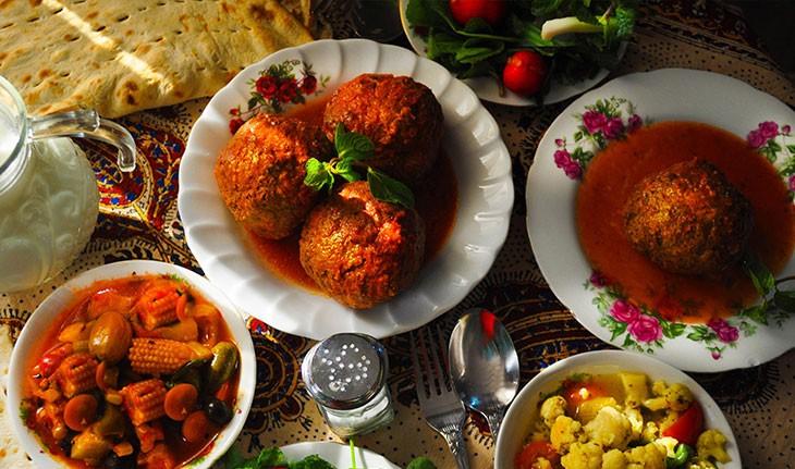 معرفی غذاهای محلی تبریز