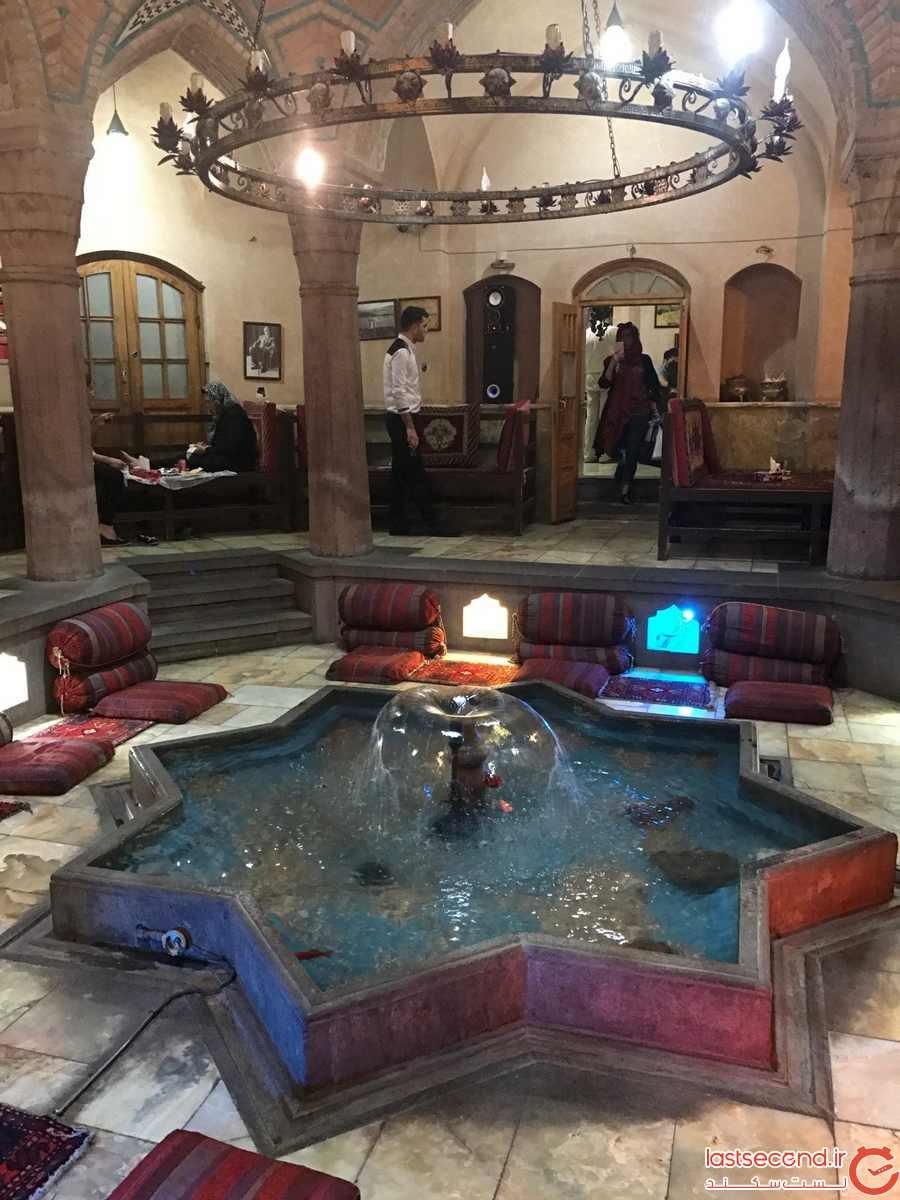 حمام تاریخی نوبر (سفره خانه سنتی شهریار(