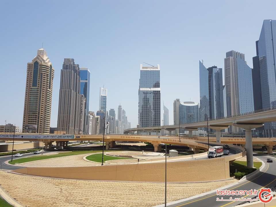 برج های اتوبان شیخ زاید