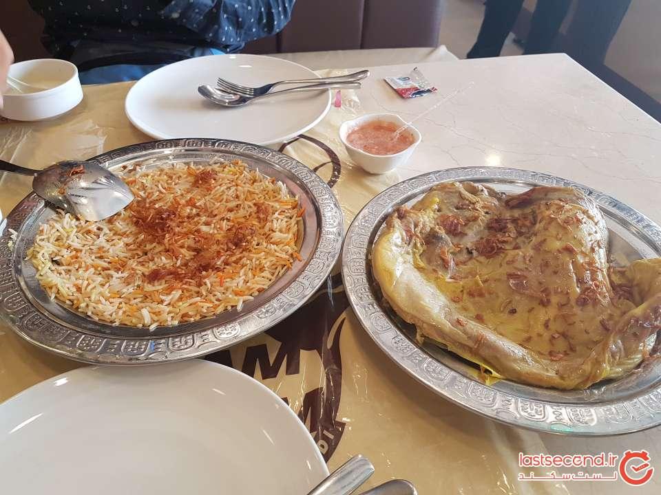رستوران زمزم مَندی دبی