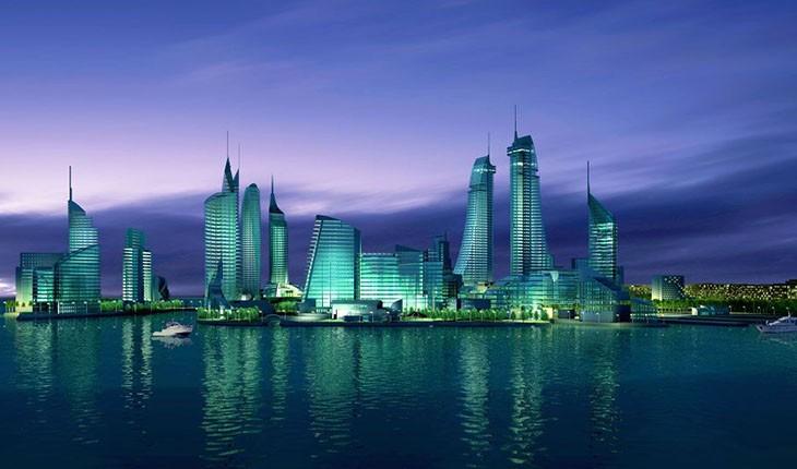 شهر منامه پایتخت کشور بحرین