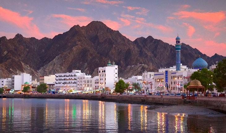 مسقط، تاج پادشاهی عمان