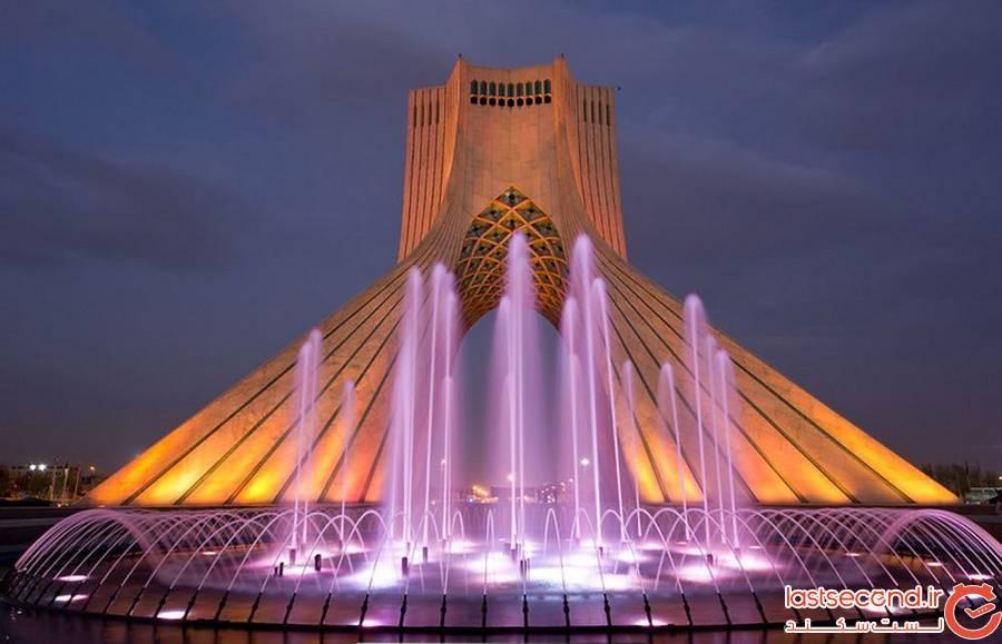 برج آزادی، ایران