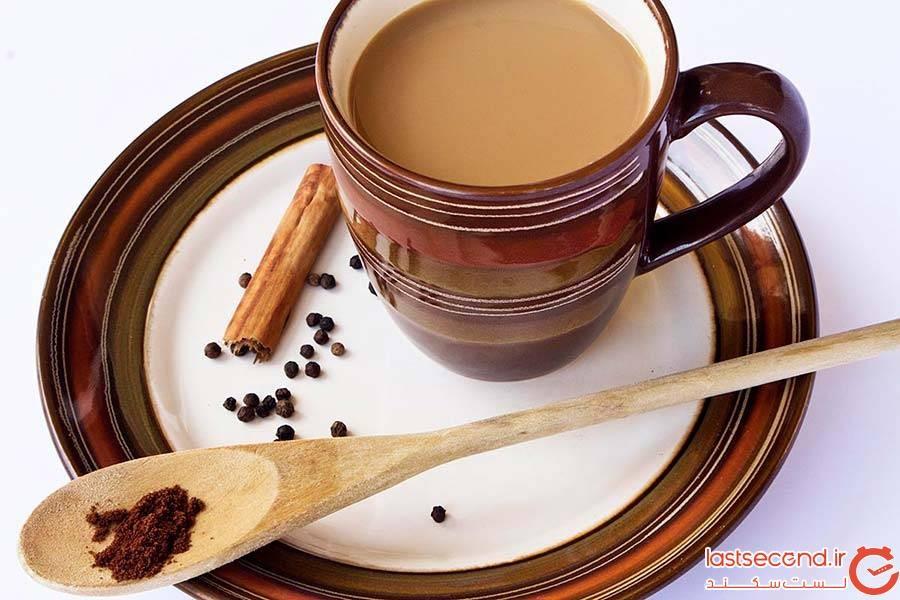 روش تهیه و سرو چای ماسالا در هند