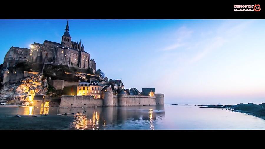 مونت سنت میشل، قلعهای که شبها زیر آب پنهان میشود