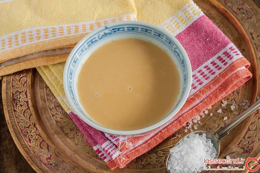 چای کرهای یا چای شور در تبت