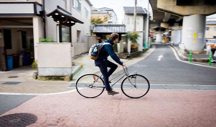 کیوتوی ژاپن، بهشت دوچرخه سواران