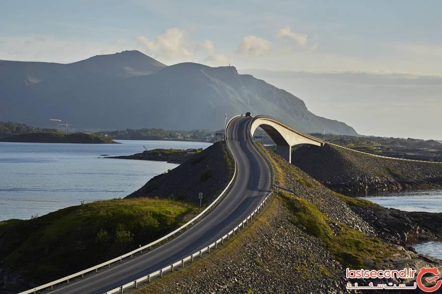 جاده آتلانتیک اوشن Atlantic Ocean، نروژ