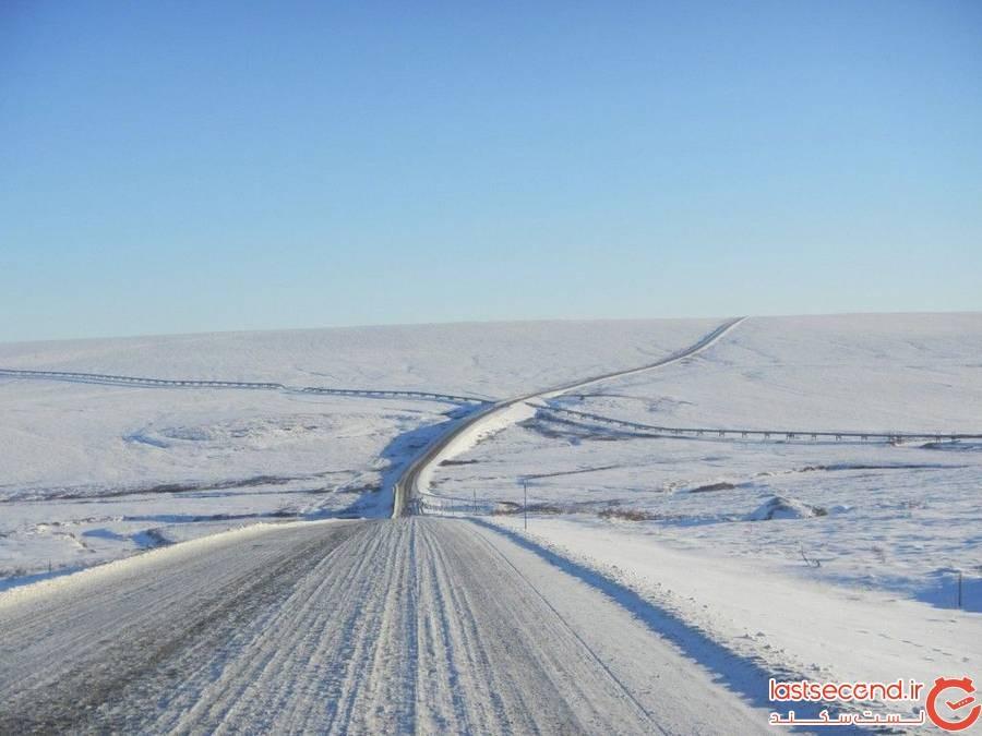 جاده جیمز دالتونjames Dalton Highway ، آلاسکا