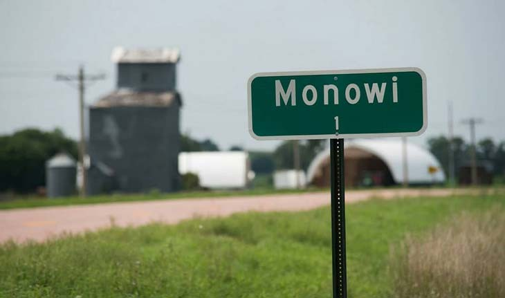 شهر مونووی ایالت نبراسکا، شهری با یک شهروند