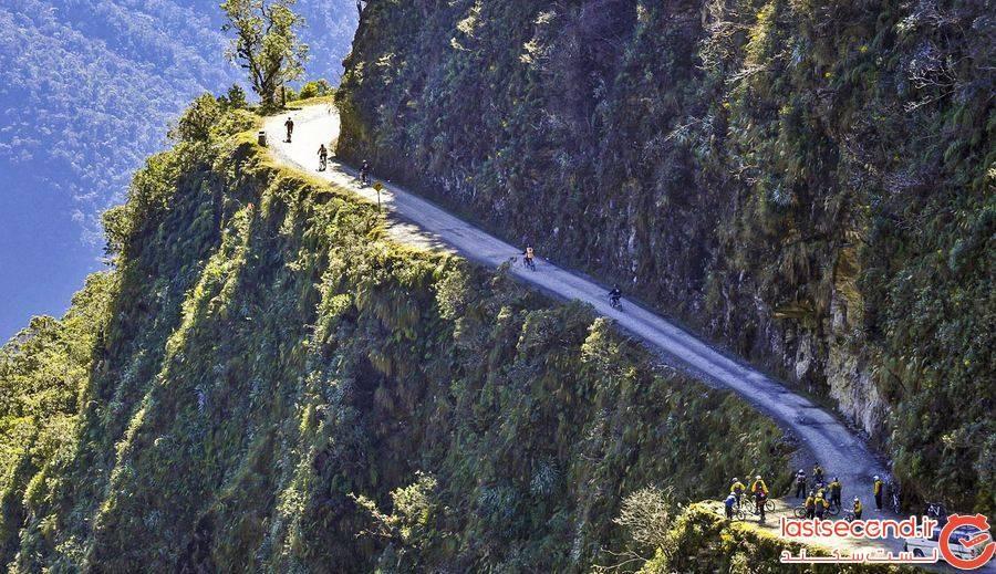 جاده یونگاس North Yungas، بولیوی