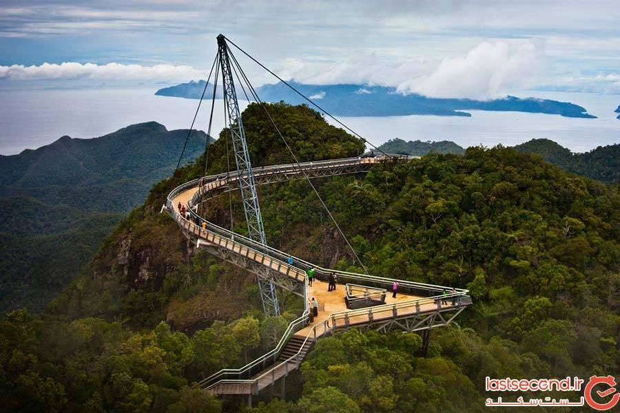 پل آسمانی لنکاوی در مالزی