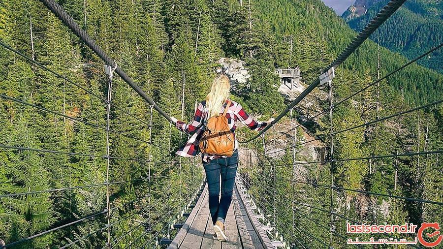 پل معلق کپیلانو در ونکوور کانادا