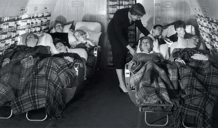 سفر با هواپیما در گذشته لذت بخش تر بوده است