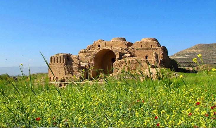 کاخ اردشیر بابکان در فیروزآباد، یادگار ساسانیان