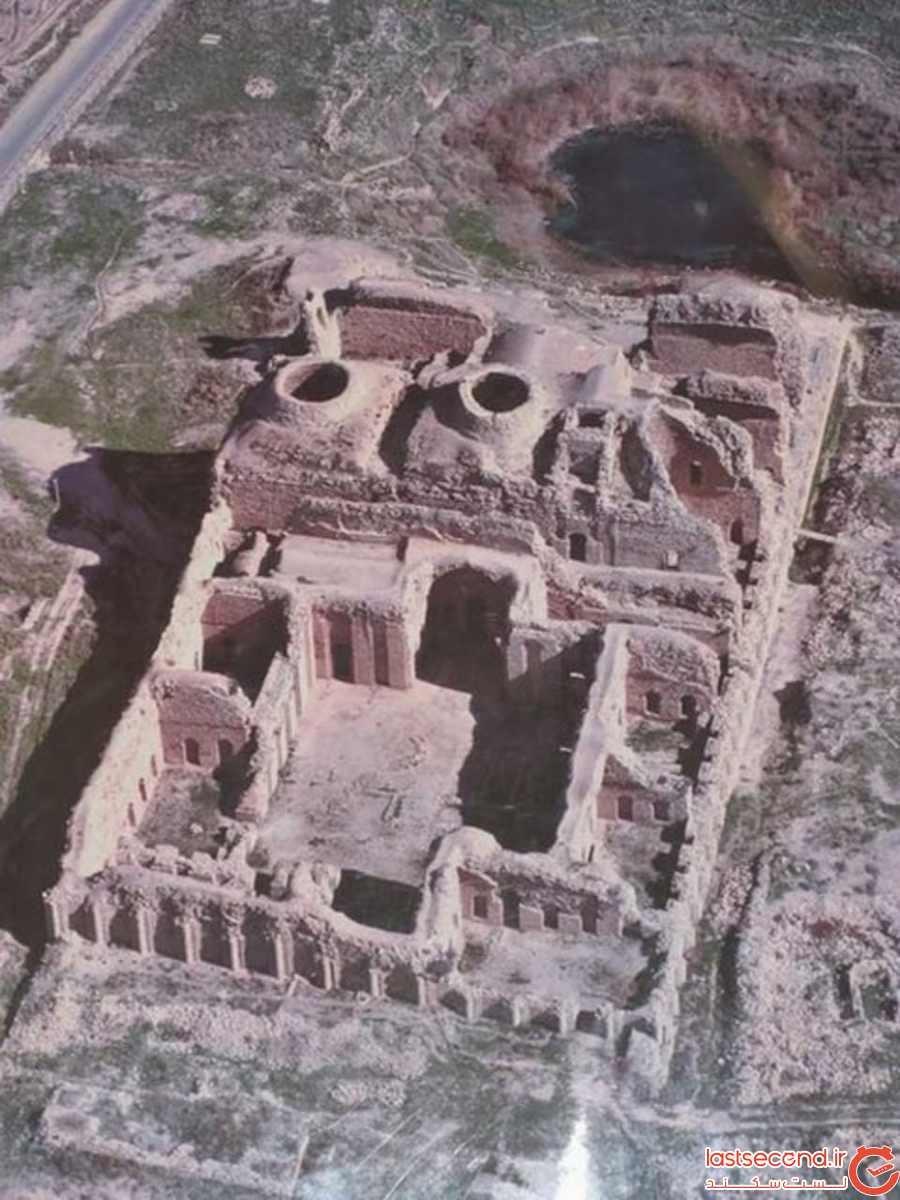 کاخ اردشیر بابکان در فیروزآباد