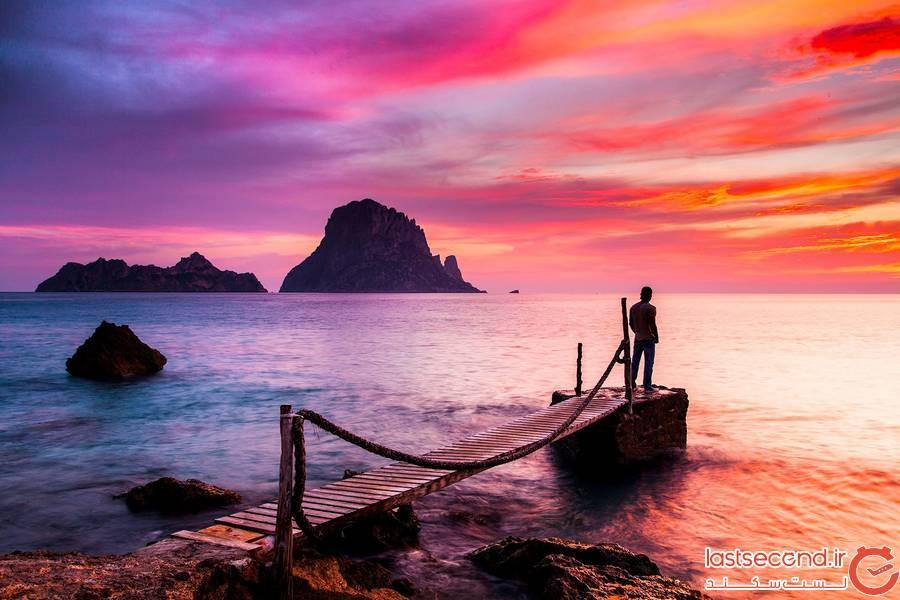  جزیره اس ودرا Es Vedrà، اسپانیا