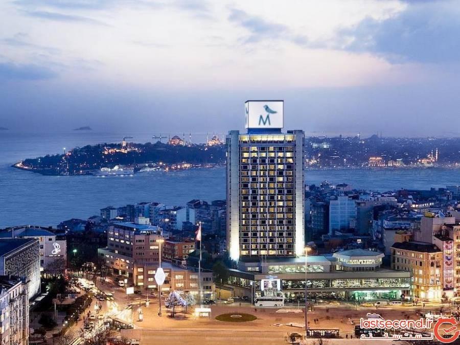 هتل مارمارا تکسیم استانبول