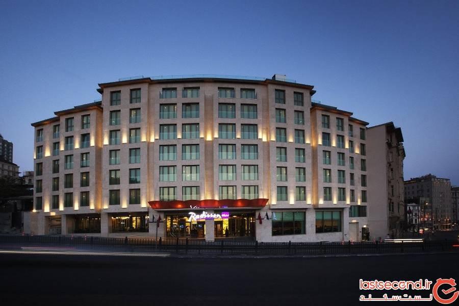 هتل رادیسون بلو استانبول