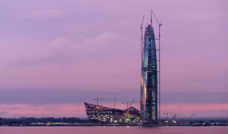 لاختا سنتر، بلندترین آسمان خراش اروپا