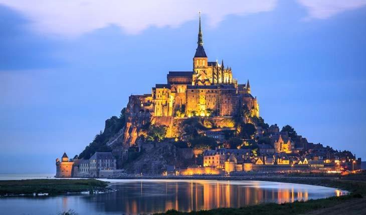 سفر به جزیره مونت سنت میشل فرانسه