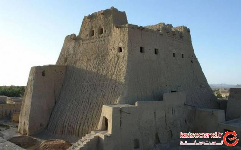 بلندترین بنای خشتی سالم در ایران + تصاویر